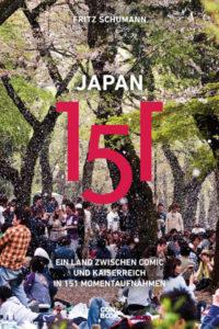 """""""Japan 151""""-Buchcover."""