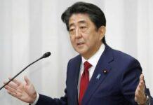 Premierminister Shinzo Abe reagiert nur langsam