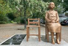 Eine Trostfrauen-Statue stellt Deutschland auf die Probe