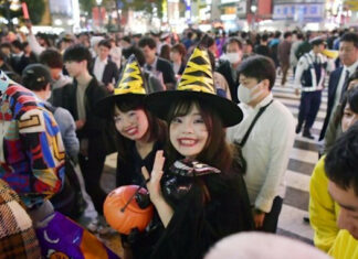 Japan feiert trotz abgesagter Events öffentlich Halloween